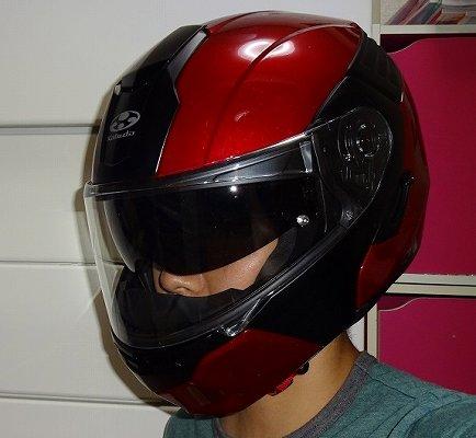 OGK KAZAMIのレビュー!格安フル装備システムヘルメットの使い心地
