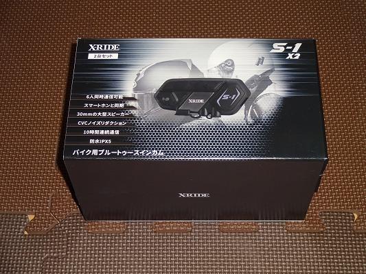他社接続の柔軟性No1!台湾製 X-RIDE S-1(BlueRider M1-S)をレビュー