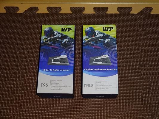 最安6ridersに置き換わる中国製インカム T9Sシリーズのレビュー