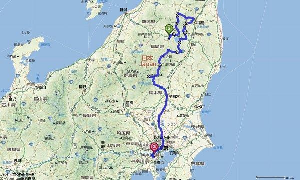 磐梯ツーリングルート2