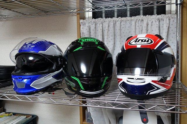 バイク用ヘルメット アライ、SHOEI、OGKを徹底比較
