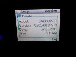 SJ4000wifiのファームアップデート wifiアプリの危険性が無くなる+タイムラプス動画機能追加!