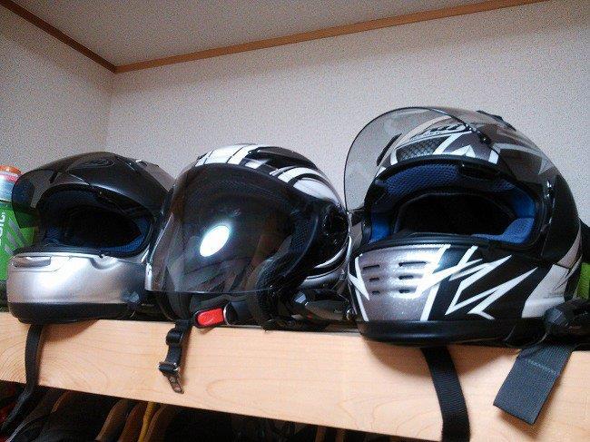 ジェットヘルメットを考える