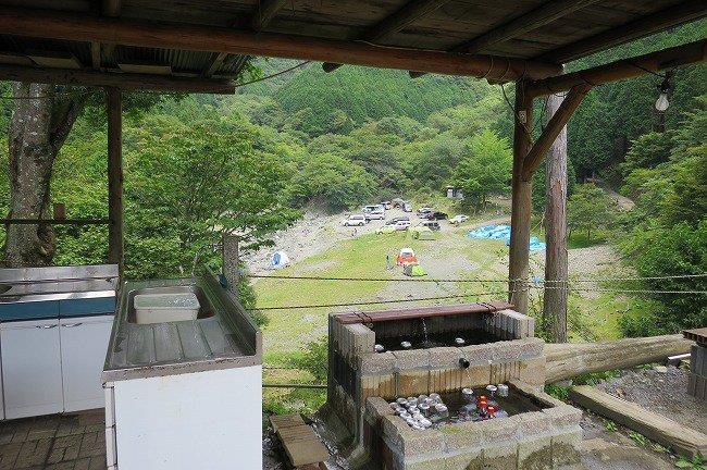 終点のキャンプ場
