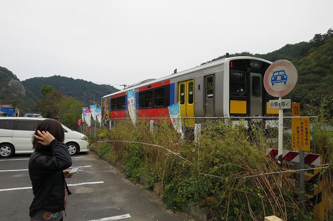 一両編成の電車