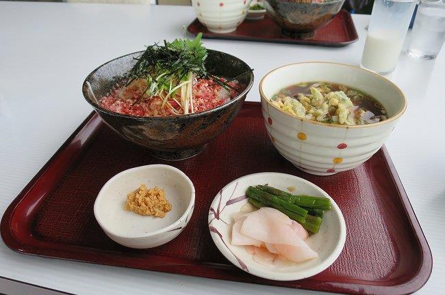 牛トロ丼セット