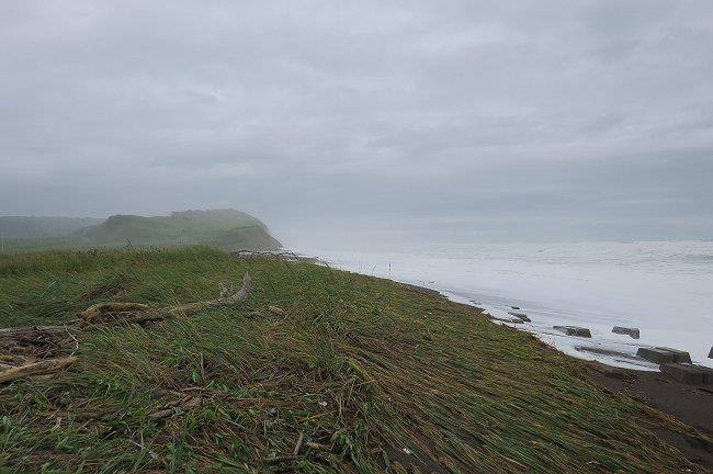 大荒れの太平洋