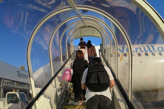 台湾生きバニラエアに乗る