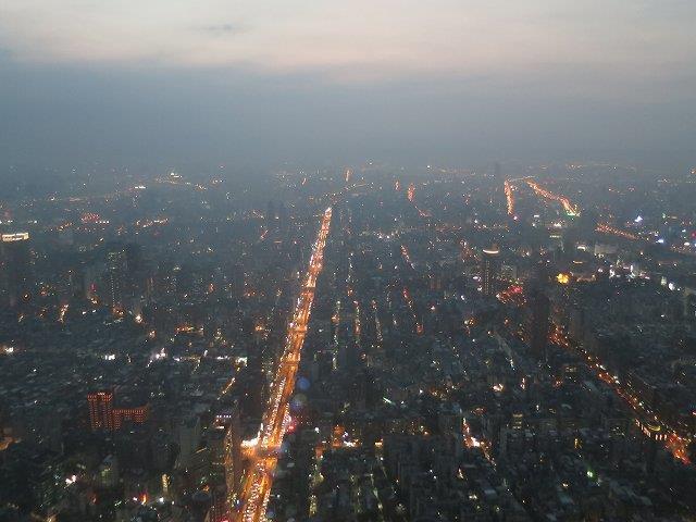 台北101から見る景色