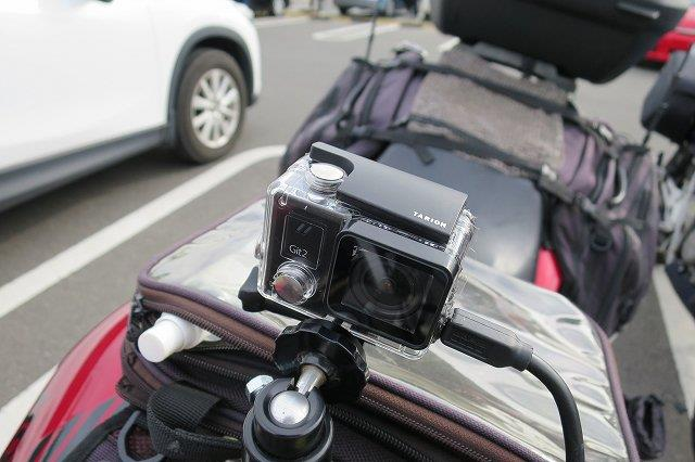 バイク用ドライブレコーダーの選び方 電源連動ウェアラブルカメラがおすすめ