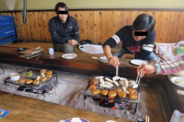 七里川温泉の囲炉裏でほっこり!真冬の房総ツーリング