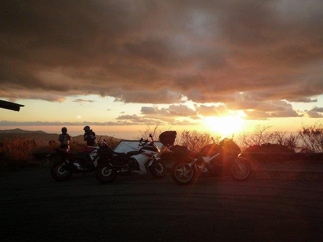 日没とバイク