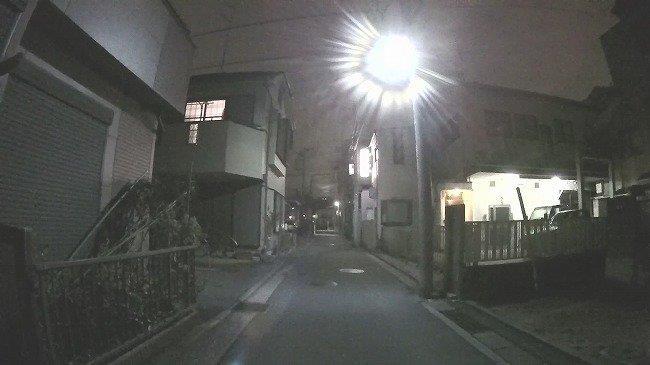 夜の画質比較