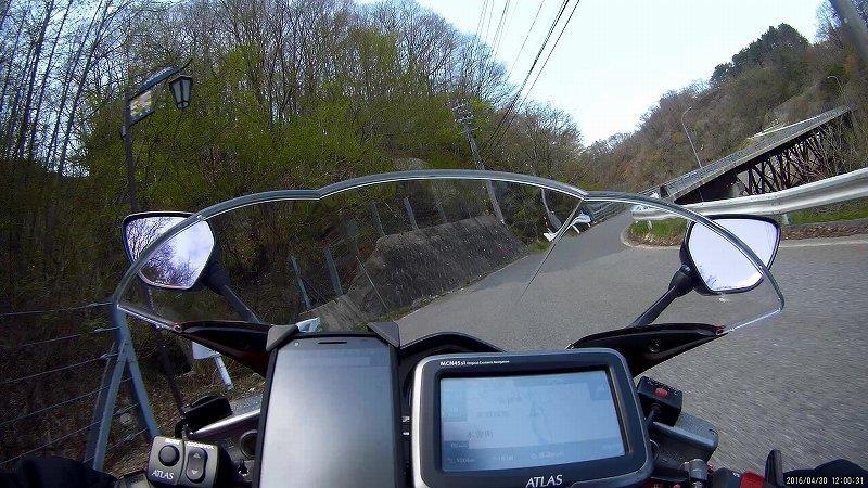 バイクで走る
