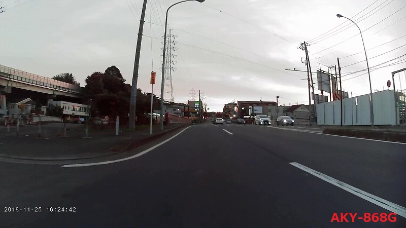 AKY-868Gの夕方の画質