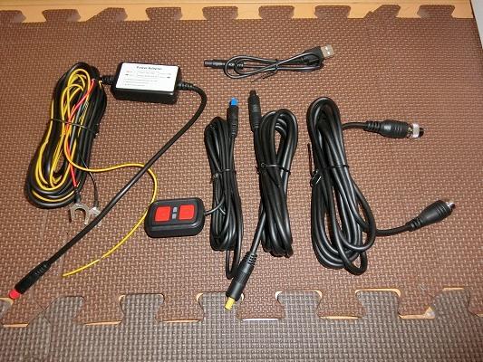 電源ケーブル、延長ケーブル、リモコン